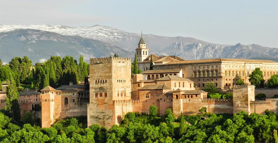 Alhambra, Spain.